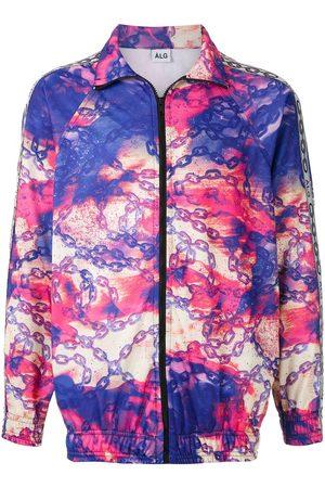 Àlg Men Bomber Jackets - Chimpa Glitch jacket