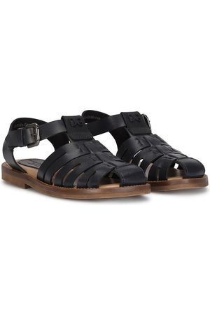 Dolce & Gabbana T-bar buckle-fastening sandals