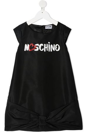 Moschino Logo-print midi dress