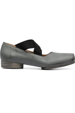 UMA WANG Square toe ballerina shoes