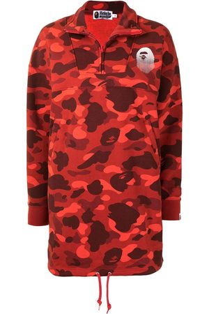 A Bathing Ape Camouflage-print jersey dress