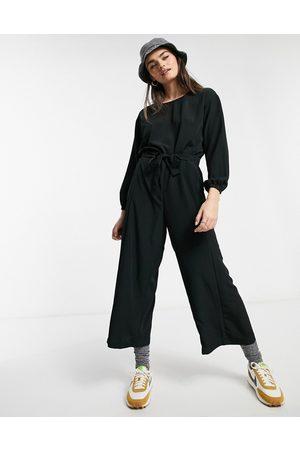 Monki Wide leg jumpsuit in