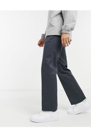 Lacoste Live pleated cotton chinos-Grey