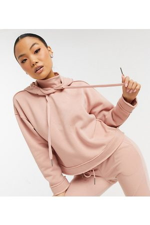 Noisy May Coordinating hoodie with high neck in