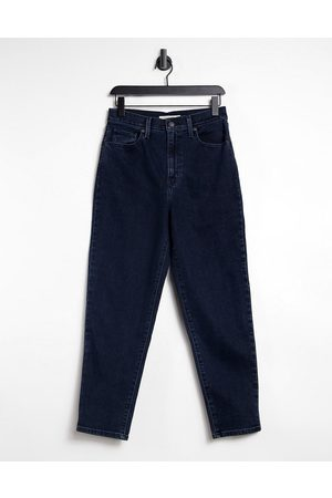 Levi's High waist tapered jeans in navy-Blues