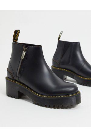 Dr. Martens Rometty II zip heeled chelsea boots in