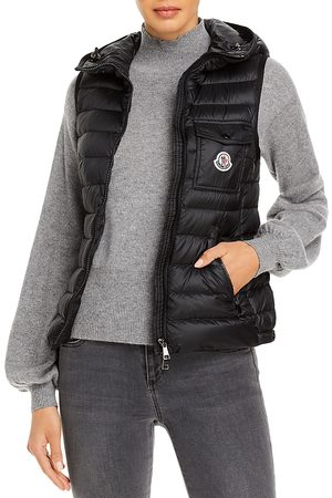 Moncler Glyco Hooded Down Puffer Vest