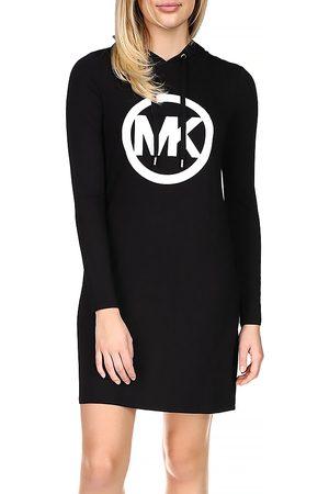 Michael Kors Circle Logo Hoodie Dress