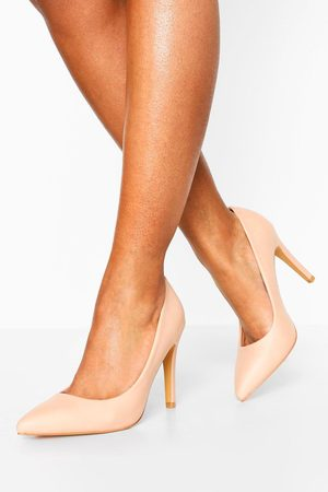 Boohoo Womens Pointed Toe Courts - - 5