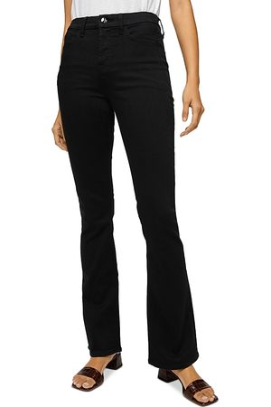 7 for all Mankind Jen7 by Slim Bootcut Jeans in Classic Noir