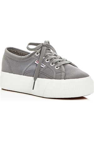 Superga Lace Up Platform Sneakers