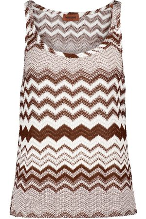 Missoni Zig-zag knit tank top