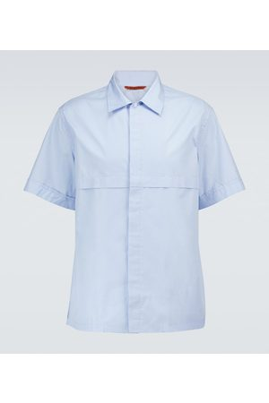 BARENA Cotton short-sleeved shirt