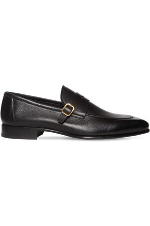 Tom Ford Men Loafers - Leather Loafers W/ Buckle