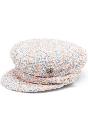 Le Mont St Michel Women Caps - New Abby Tweed Baker Boy Cap - Womens - Multi