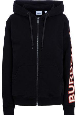 Burberry Zipped cotton hoodie
