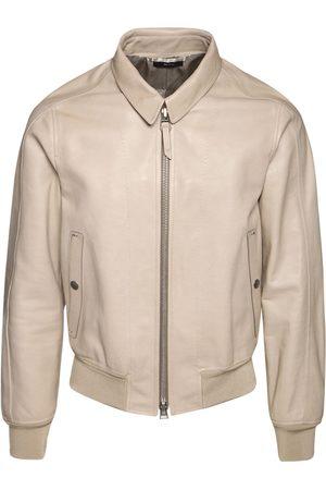 Tom Ford Soft Leather Shirt Jacket