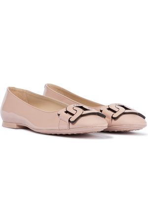 Tod's Gomma patent leather ballet flats