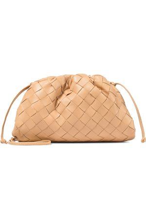 Bottega Veneta The Mini Pouch intrecciato leather clutch