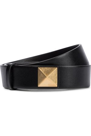 VALENTINO GARAVANI Upstud leather belt