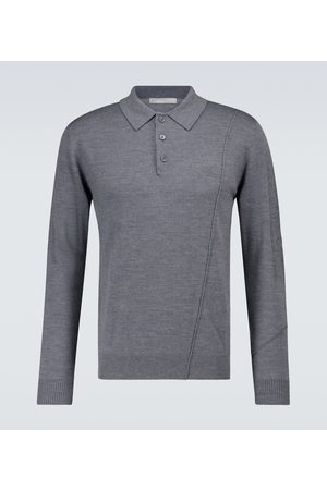 A-cold-wall* Knitted merino wool polo sweater