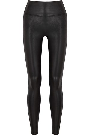 Spanx Stretch faux-leather leggings