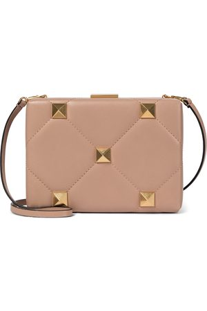 VALENTINO GARAVANI Roman Stud Small leather clutch