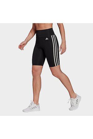 adidas Women's Training Aeroknit Cropped High-Rise Tights in /Dark Grey Heather