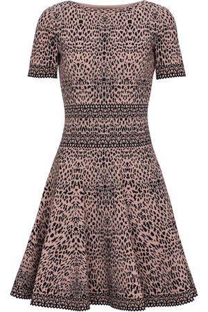 Alaïa Jacquard-knit minidress