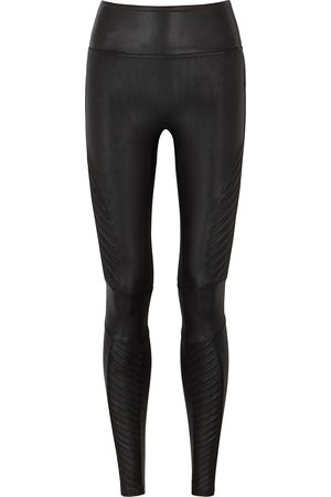 Spanx Moto stretch faux-leather leggings