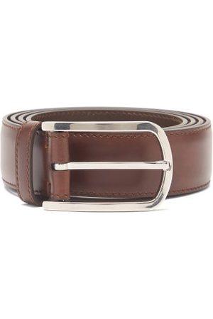 Brunello Cucinelli Men Belts - Leather Belt - Mens
