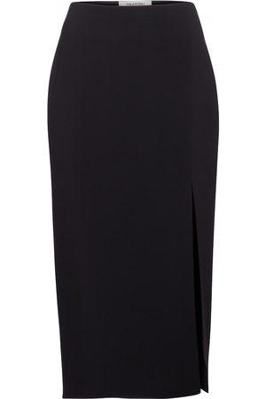 Valentino / Garavani High-rise cady midi skirt