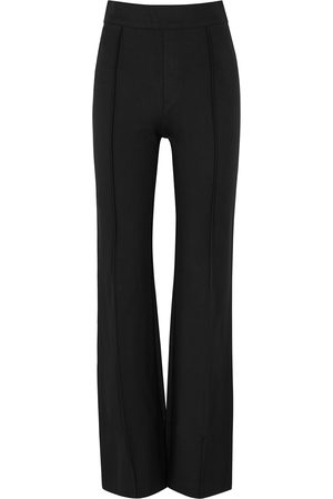 Spanx Stretch-jersey flared-leg trousers