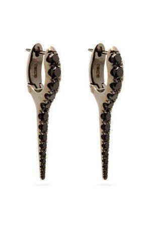 Melissa Kaye Women Earrings - Lola Diamond & 18kt -gold Needle Earrings - Womens