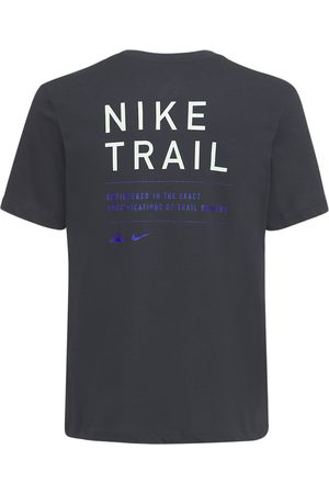 Nike Trail Running Cotton Jersey T-shirt