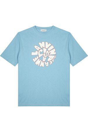 Lanvin Men T-shirts - Printed cotton T-shirt