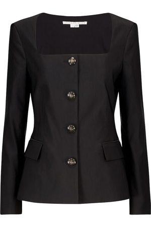 VERONICA BEARD Ria stretch-shantung jacket