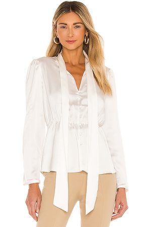 1. STATE Puff Sleeve Blouse in .