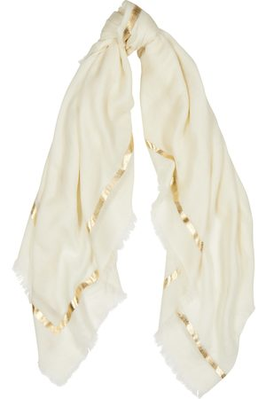 AMA Pure Women Scarves - Righino foil-print cashmere scarf