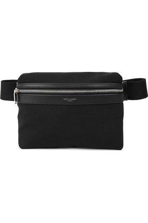 Saint Laurent City canvas belt bag