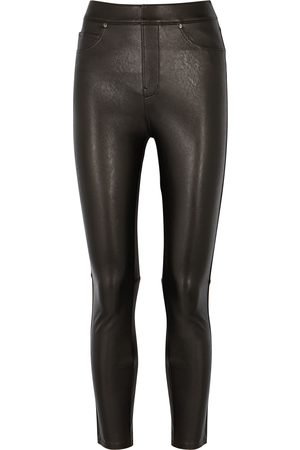 Spanx Women Leggings - Faux leather leggings