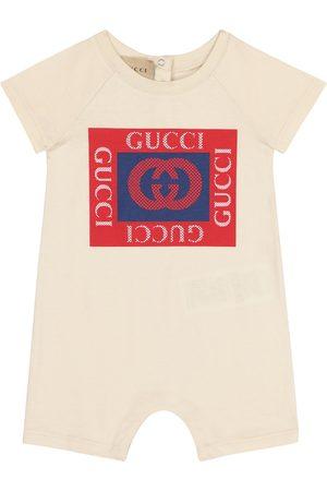 Gucci Baby logo cotton onesie