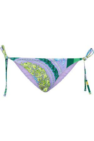 VERSACE Printed bikini bottoms