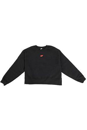 Nike Women Hoodies - Women's Sportswear Lips Crew Sweatshirt (Plus