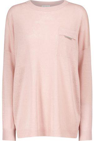 Brunello Cucinelli Linen-blend sweater