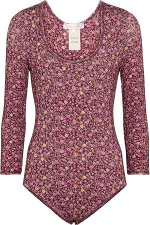 LOVESHACKFANCY Helene floral bodysuit