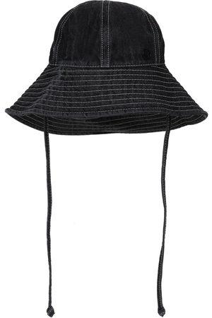 Le Mont St Michel Women Hats - Julianne Cotton Denim Hat
