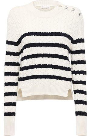 Moncler Genius Striped Cotton Blend Sweater