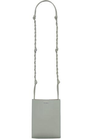 Jil Sander Men Bags - Sm Tangle Leather Shoulder Bag