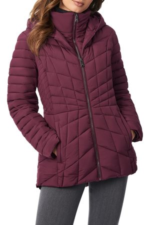 Bernardo Women's Micro Touch Water Resistant Quilted Jacket